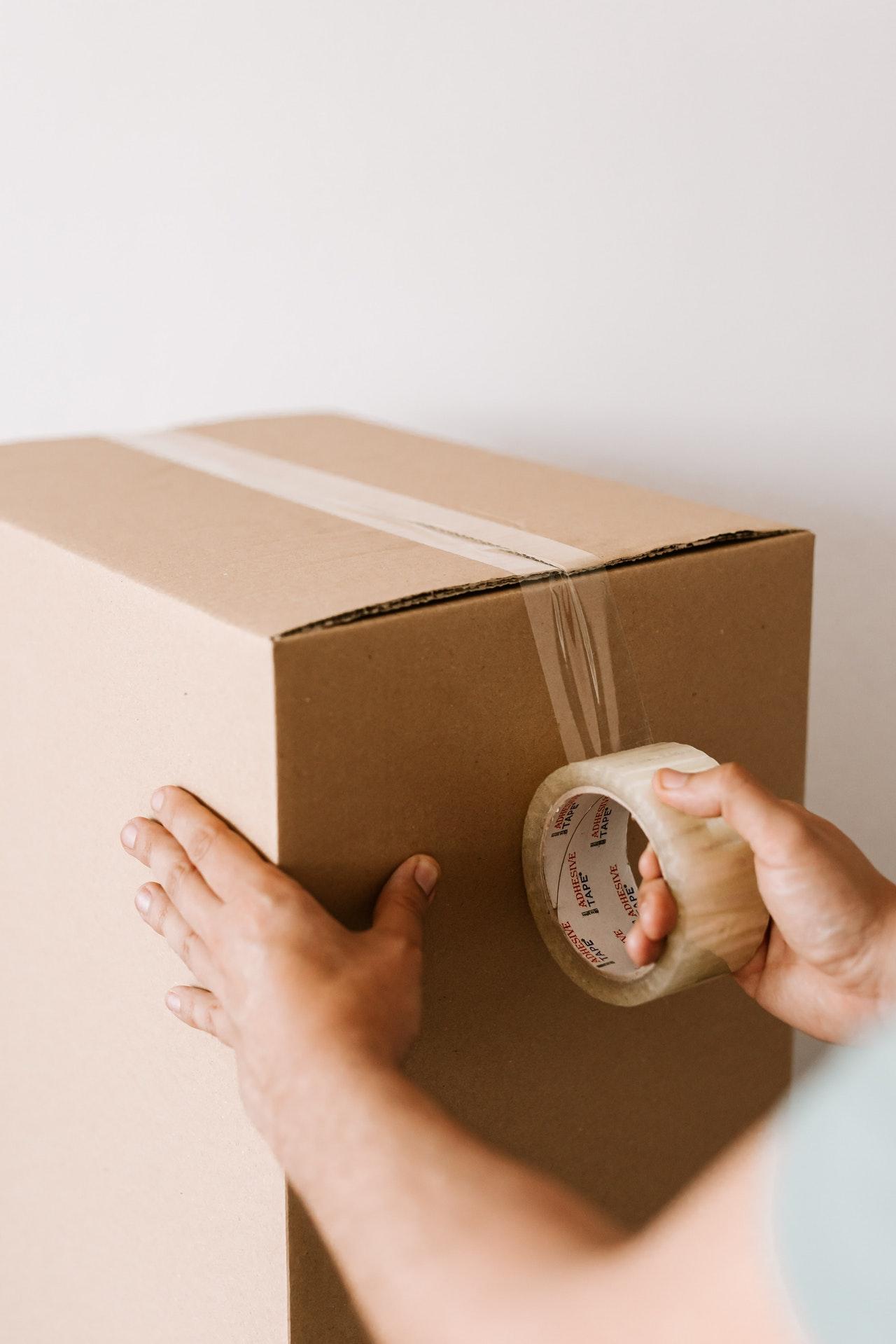 pakowanie przysyłki